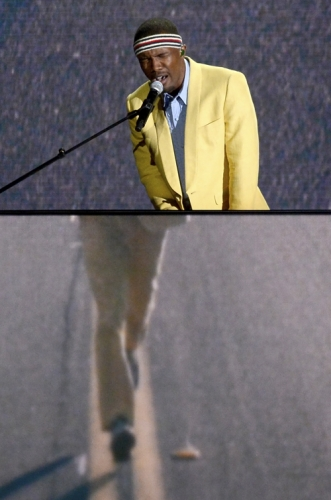 Frank Ocean...as Forrest Gump?