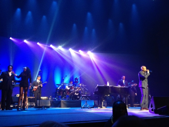 Kem with his stellar band