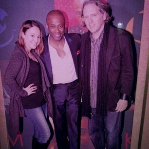 Peter Waters and I with Kem