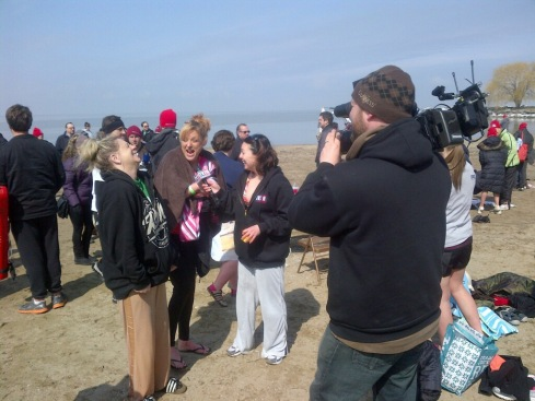 Post Plunge interviews!