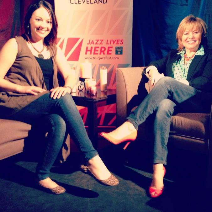 Interviewing Terri Pontremoli Managing Director of Tri-C Jazz Fest