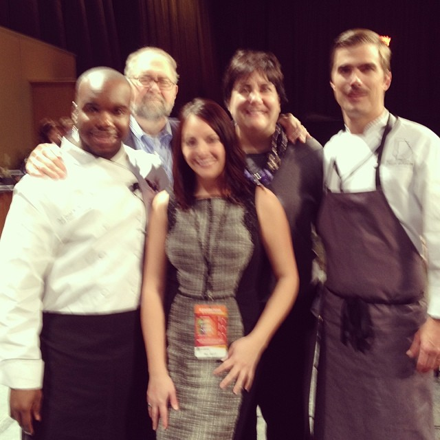 Emceeing the Tri-C Culinary Challenge at the IX Center