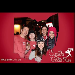 Posing with Friends at Cupid Undie!