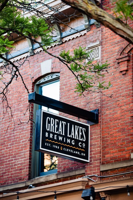 great lakes brewing company sign